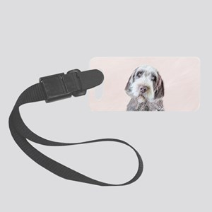 Wirehaired Pointing Griffon Small Luggage Tag