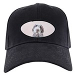 Wirehaired Pointing Griffon Black Cap with Patch