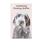 Wirehaired Pointing Griffon Sticker (Rectangle)