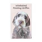 Wirehaired Pointing Grif Sticker (Rectangle 50 pk)