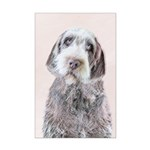 Wirehaired Pointing Griffon Mini Poster Print