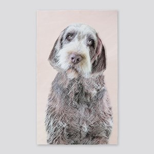 Wirehaired Pointing Griffon Area Rug
