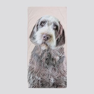 Wirehaired Pointing Griffon Beach Towel