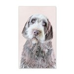 Wirehaired Pointing Griffon 20x12 Wall Decal