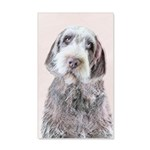 Wirehaired Pointing Griffon 35x21 Wall Decal