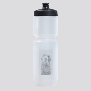 Wirehaired Pointing Griffon Sports Bottle
