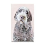 Wirehaired Pointing Griffon Rectangle Car Magnet