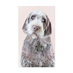 Wirehaired Pointing Grif Sticker (Rectangle 10 pk)