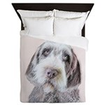 Wirehaired Pointing Griffon Queen Duvet