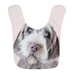Wirehaired Pointing Griffon Polyester Baby Bib