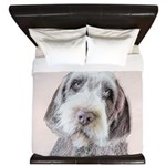 Wirehaired Pointing Griffon King Duvet