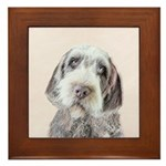 Wirehaired Pointing Griffon Framed Tile