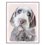 Wirehaired Pointing Griffon Small Poster