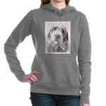 Wirehaired Pointing Grif Women's Hooded Sweatshirt
