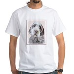 Wirehaired Pointing Griffon White T-Shirt