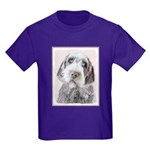 Wirehaired Pointing Griffon Kids Dark T-Shirt