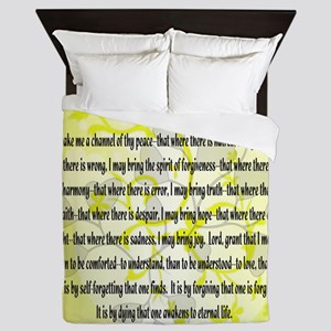 3rd Step Prayer Queen Duvet