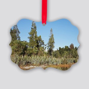Lake Mapourika, West Coast, South Picture Ornament