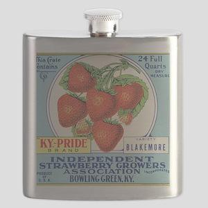 KENTUCKY STRAWBERRIES Flask