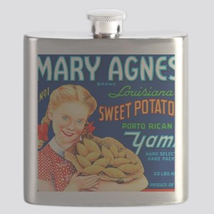 MARY AGNES Flask