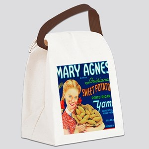MARY AGNES Canvas Lunch Bag