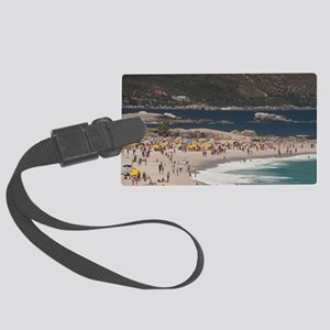 Camps Bay. Popular white sand be Large Luggage Tag