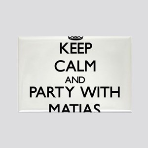 Keep Calm and Party with Matias Magnets