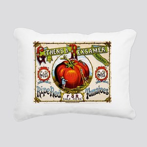 PHILADELPHIA TOMATOES Rectangular Canvas Pillow
