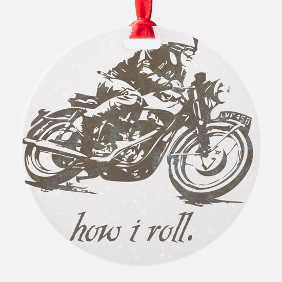 cafe how i roll Ornament