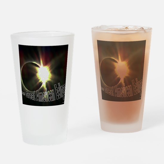 Diamond Ring Solar Eclipse Drinking Glass