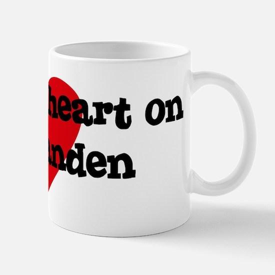 Heart on for Landen Mug