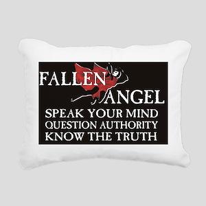 Fallen Angel poster Rectangular Canvas Pillow