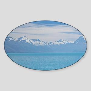 and Aoraki / Mt Cook Sticker (Oval)
