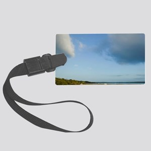 Rainbow Beach. Gateway to Fraser Large Luggage Tag
