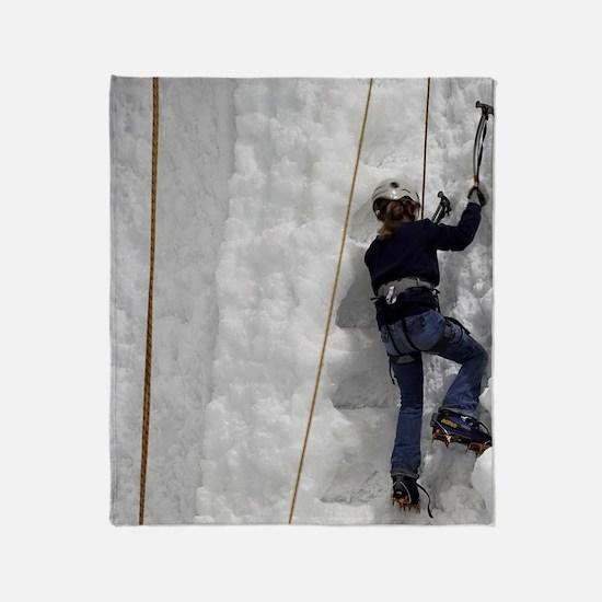 Hukawai Glacier Centre Throw Blanket