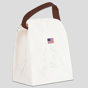 WhtSugarLoafMtGif Canvas Lunch Bag