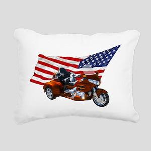 AA08 CP-T bronze Rectangular Canvas Pillow