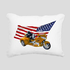 AA08 CP-T Yellow Rectangular Canvas Pillow