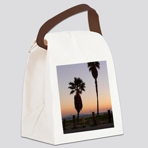 Malibu - iPhone 4 slider case Canvas Lunch Bag