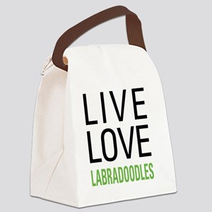 livelabradoodle Canvas Lunch Bag