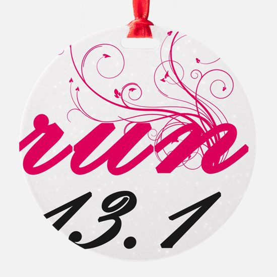 run13_pink2_sticker Ornament