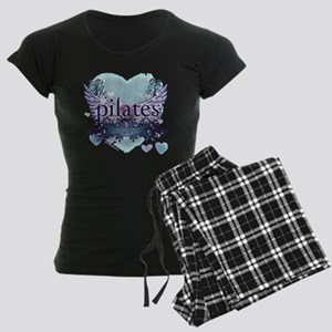 twilight forever aqua heart  Women's Dark Pajamas