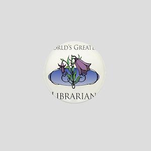FloralFabulous_Librarian Mini Button