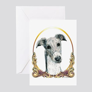 Greyhound Christmas/Holiday Greeting Cards (Packag