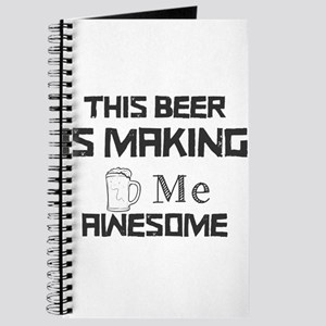 This Beer Is Making Me Awesome Journal