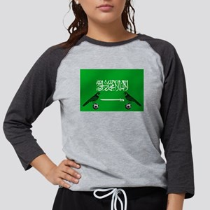 Saudi Arabia Football Flag Long Sleeve T-Shirt