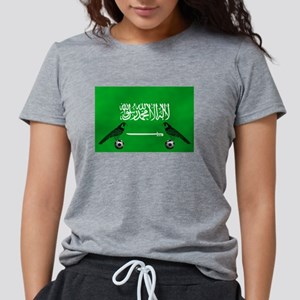 Saudi Arabia Football Flag T-Shirt