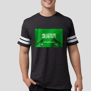 Saudi Arabia Football Flag T-Shirt