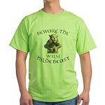 Hildebeast anti-Hillary Green T-Shirt
