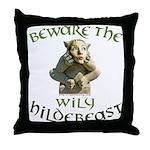 Hildebeast anti-Hillary Throw Pillow